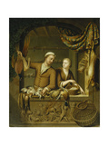 The Poultry Sellers  1727