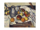 Still Life with Apples; Stilleben Mit Apfeln