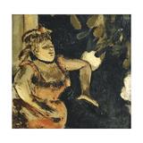 Mlle Becat at the Ambassadeurs; Mlle Becat Aux Ambassadeurs  C 1875-1877