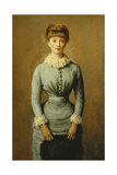 Miss Evelyn Otway  1880