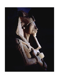 Bust from a Colossal Statue of Akhenaten  One of a Series Depicting the King in Various Guises…