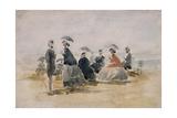 Les Crinolines  1865