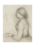 Study of a Young Girl at the Piano; Etude Pour Une Jeune Fille Au Piano