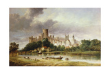 A View of Windsor Castle from the Brocas Meadows  1856