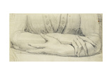 Study of a Woman's Gloved Arms  1798