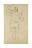 Bather Standing; Baigneur Debout  C 1885-88