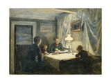Evening in Skagen (The Artist's Family)  1886
