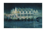 The Night in Bruges; La Nuit a Bruges  1897