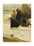 Fisherman Returning Home  Skagen  1885