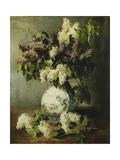 Lilac in a Delft Vase  1895