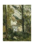 House in the Trees  Auvers; Maison Dans Les Arbres  Auvers  1879