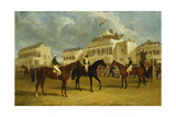 Preparing to Start for the Emperor of Russia's Cup at Ascot  1845  1845