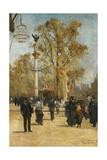 L'Avenue Victoria  1876