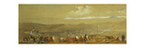 The Crimea: Panoramic View of Sebastopol Showing the Military Encampments and the Harbour; and a…