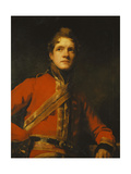 Portrait of Lieut-Colonel Morrison of the 7th Dragoon Guards  Half Length  in Uniform