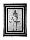 Mosaic of a Skeleton