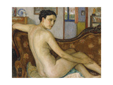 The Bather with Her Dog; La Baigneuse Avec Son Chien - De Baadster Met Hondje