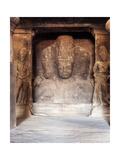 The Trimurti at the Temple of Shiva  Elephanta