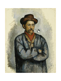 Man with a Pipe; L Homme a La Pipe  C1890-92
