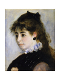 Portrait of Miss Henriette Henriot; Portrait De Mme Henriot  1874