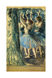 Dancers in the Scene; Danseuses En Scene  C 1898