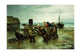 Hauling a Ship  1887