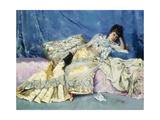 Lady on a Divan  1877