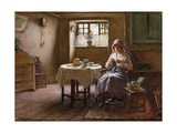 A Fisherman's Wife - Fifeshire Interior