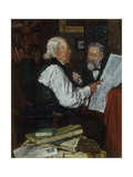 Discussing the News: the Argument  1891