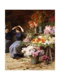 Flower Power; Marchande De Fleurs