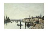 Rouen; La Seine Et Le Pont Corneill  1895