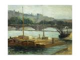 Boats at Groix; Bateaux a Groix