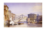The Rialto from the Grand Canal  1852