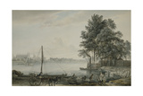 A View of Eton College from the Thames  1779