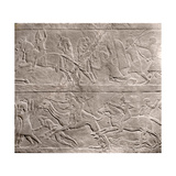 Stone Relief from the Palace of Ashurbanipal