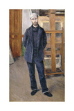 Portrait of Pierre Rabot  Full-Length; Portrait De Pierre Rabot; En Pied  1893