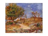 Girl on a Path; Jeune Fille Sur Le Sentier  C1882-83