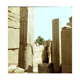 Columns of the Great Temple of Amun at Karnak