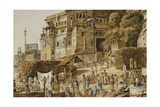 Bruhma Ghat  Benares