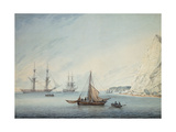 Shipping Off Shakespeare's Cliff  1806