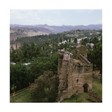 "Ruins of One of the Castles Which Stand Within the Walled ""Imperial Enclosure"" at Gondar  the…"