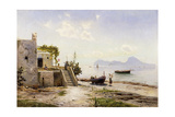 From Sorrento  Towards Capri  1889