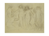 Study for the Judgement of Paris; Etude Pour Le Jugement De Paris