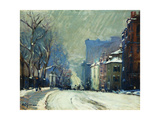 Beacon Street in Winter