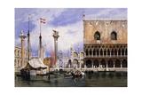 The Piazzetta Di San Marco  Venice  1839