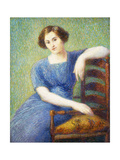 Woman with a Chair; Femme Au Fauteuil
