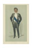 The Aga Khan  10 November 1904  Vanity Fair Cartoon