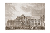 The Coronation Procession of Anne Boleyn to Westminster Abbey  Illustration from 'The History of…