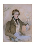 Portrait of William Spencer  6th Duke of Devonshire  1828