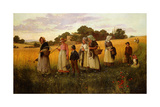 Barley Cutters Returning from Work  1882